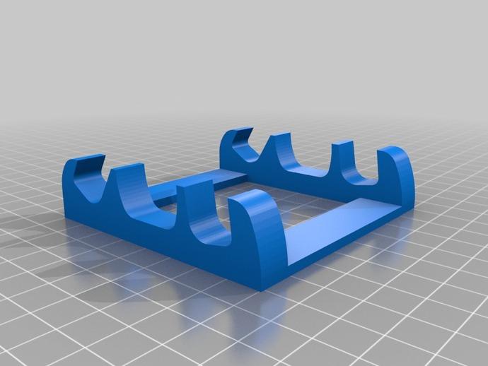 多角度手机支架 3D打印模型渲染图