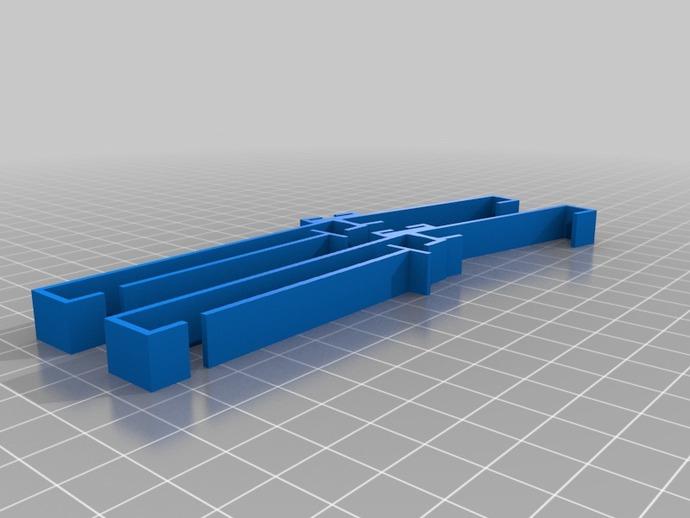 三星Galaxy Note手机支架 键盘支架 3D打印模型渲染图