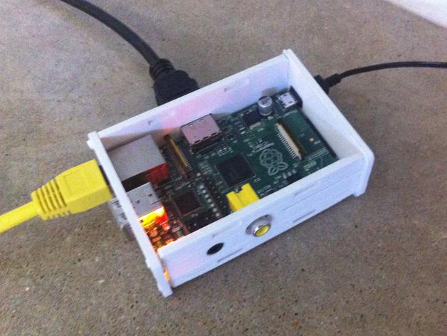 树莓派电路板保护盒