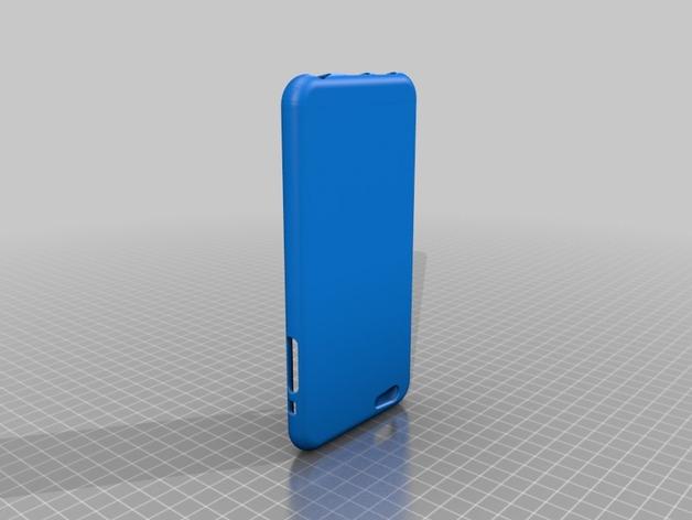 iPhone 6 Plus手机保护套 3D打印模型渲染图