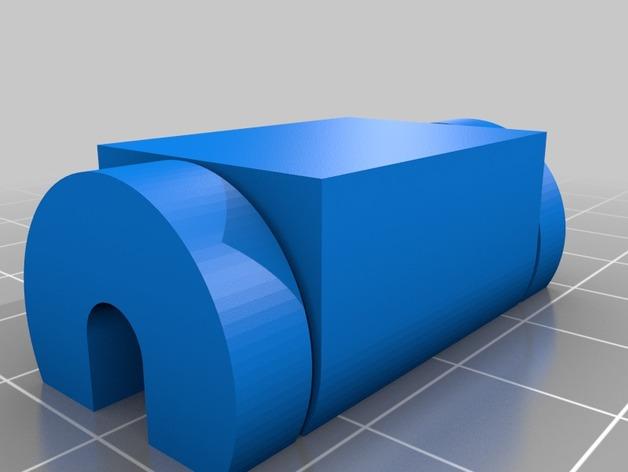 电脑收纳器 电缆固定器 3D打印模型渲染图