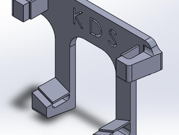 三星Galaxy S3手机支架 3D打印模型渲染图