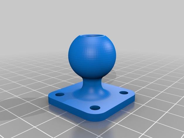 麦克风 3D打印模型渲染图