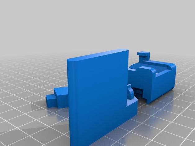 三星Gear 支架 3D打印模型渲染图