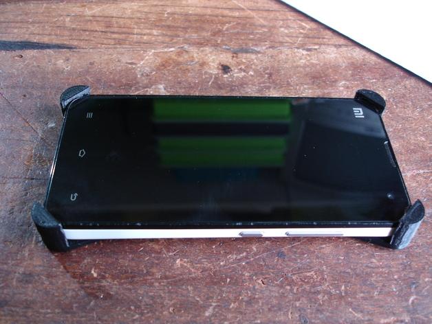 小米2手机壳 3D打印模型渲染图