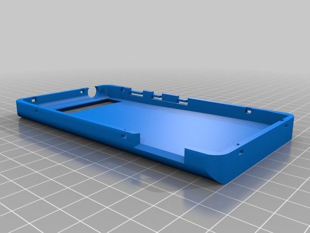摩托罗拉手机壳 3D打印模型渲染图