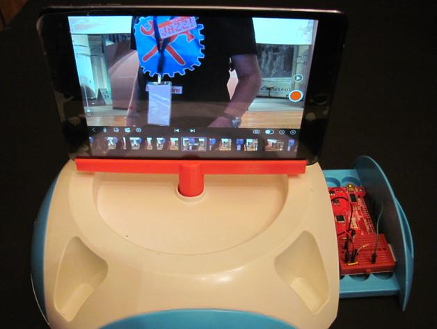 ipad微调器 3D打印模型渲染图