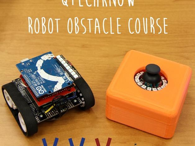 机器人控制器外壳 3D打印模型渲染图