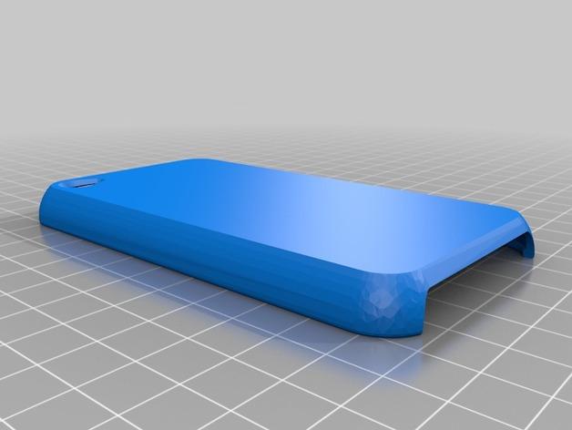ipod4保护壳 3D打印模型渲染图