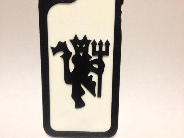 iphone5s手机壳 3D打印模型渲染图