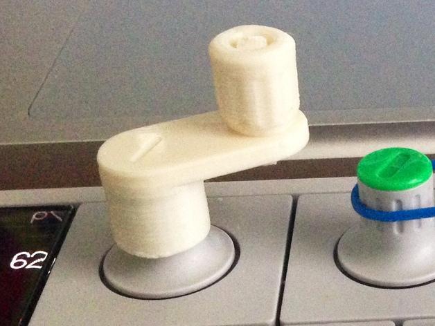 OP-1 打印配件 3D打印模型渲染图