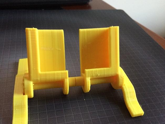 iphone5s折叠架 3D打印模型渲染图