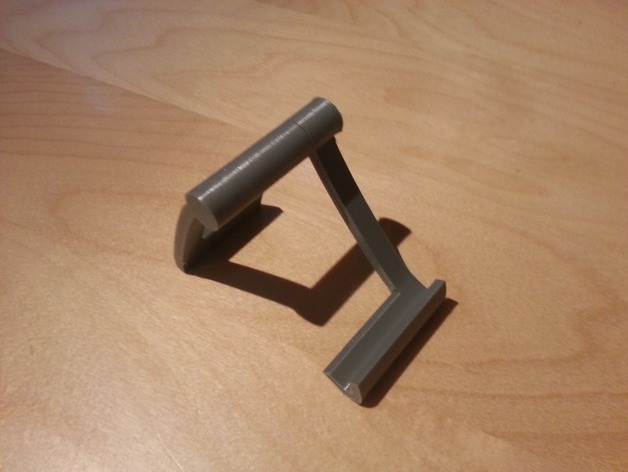 简易支架 3D打印模型渲染图