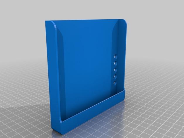 Nexus 7 站架 3D打印模型渲染图