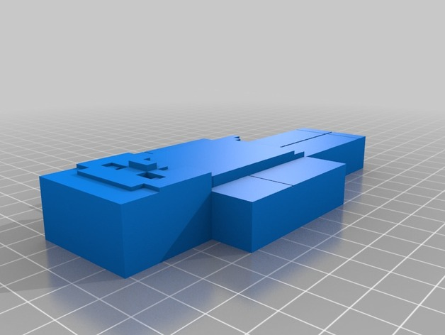 人像 3D打印模型渲染图