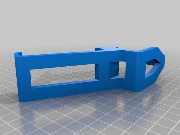 PS3 控制器和Sony Xperia 衔接器 3D打印模型渲染图