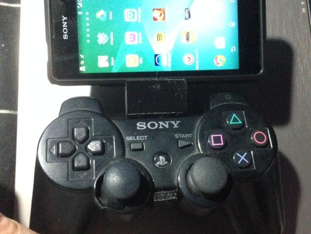 PS3 控制器和Sony Xperia 衔接器