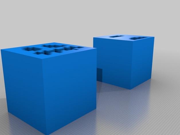 Minecraft 造型摆件 3D打印模型渲染图