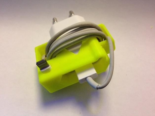 苹果充电器绕线器