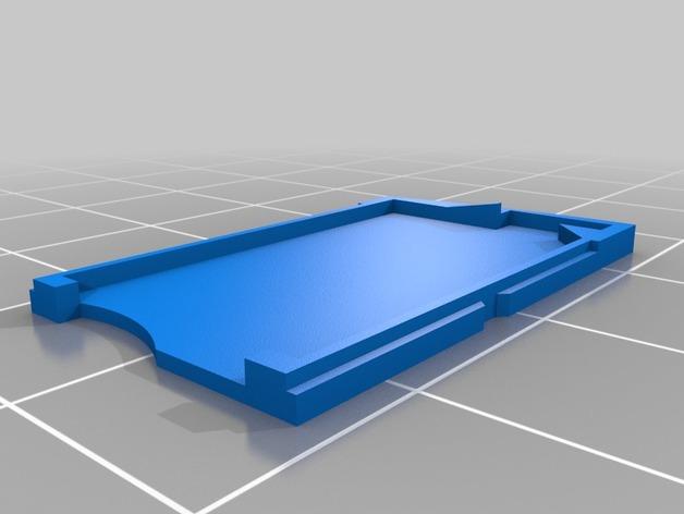 托盘 3D打印模型渲染图