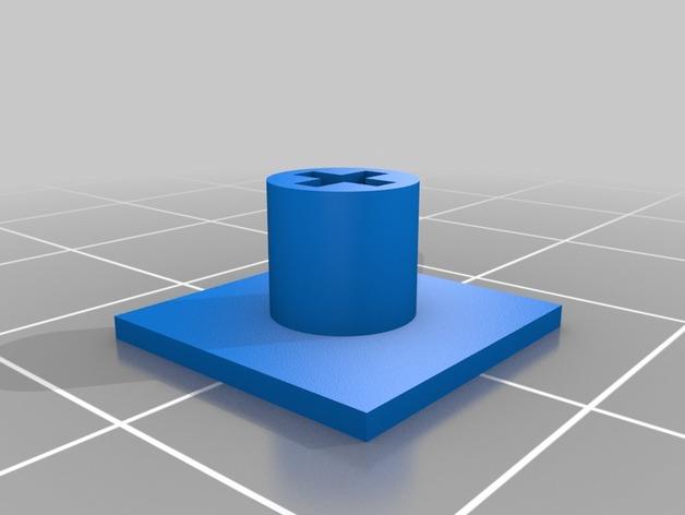 十字形帽 3D打印模型渲染图