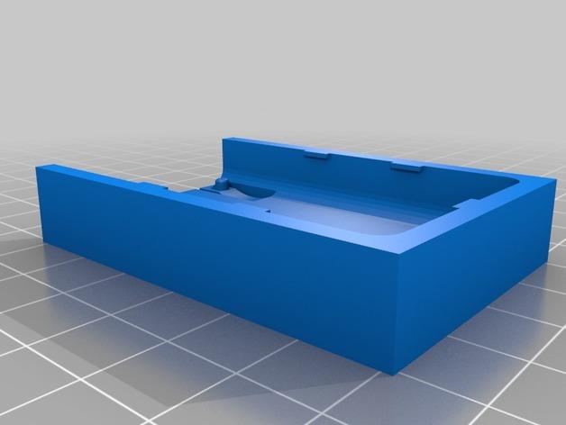 莫比乌斯保护壳 3D打印模型渲染图