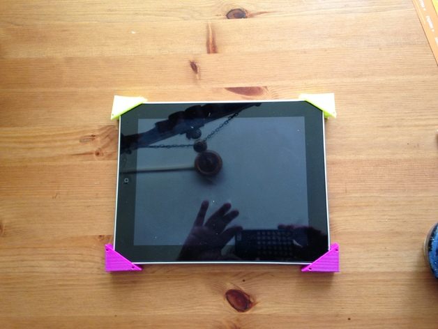 ipad壁挂 3D打印模型渲染图