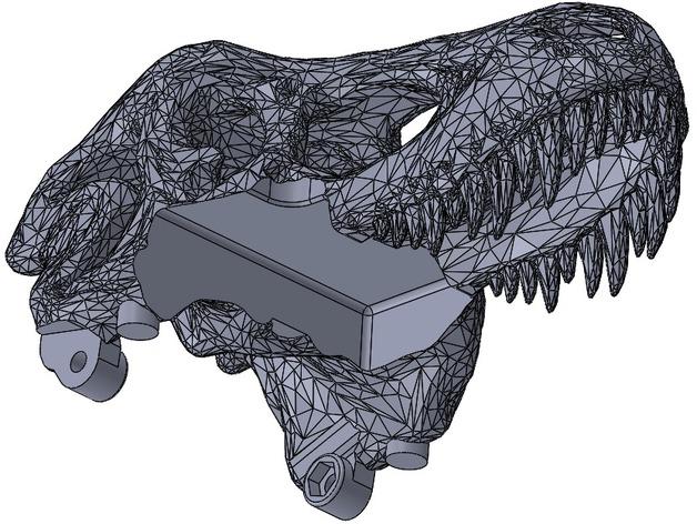 恐龙相机外壳