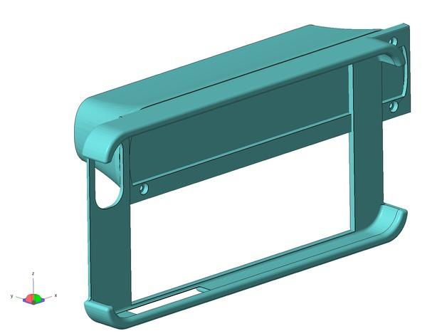 iPhone 5S扫描架 3D打印模型渲染图