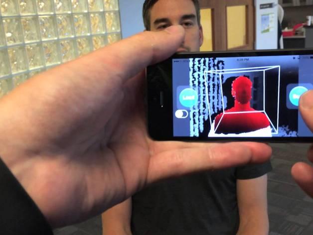 iPhone 5S扫描架