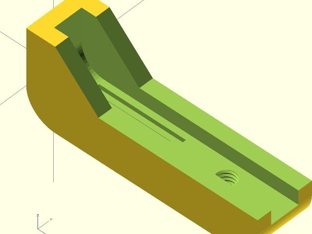 iPhone4 三脚架 3D打印模型渲染图
