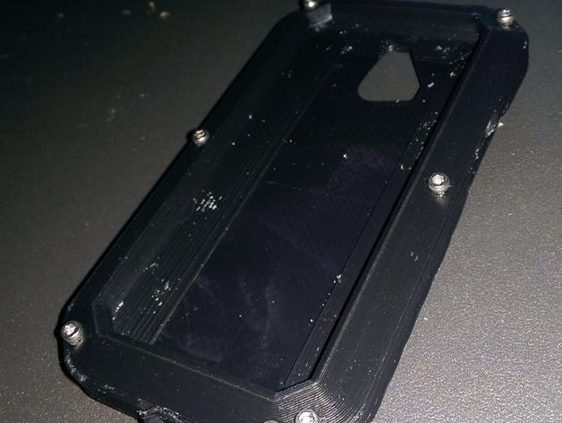 RapTik HTC ONE M8手机壳 3D打印模型渲染图