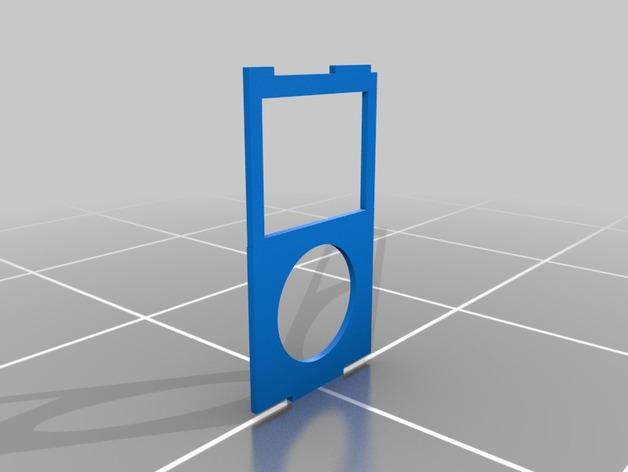 ipod classic手机壳 3D打印模型渲染图