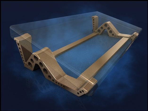 Nokia 1020支架 3D打印模型渲染图
