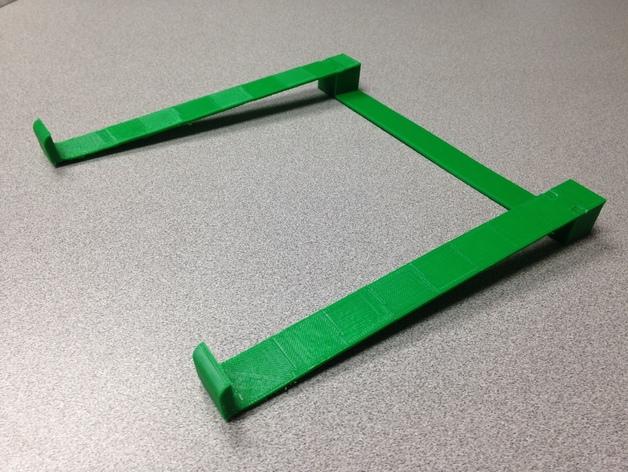 笔记本支架 3D打印模型渲染图