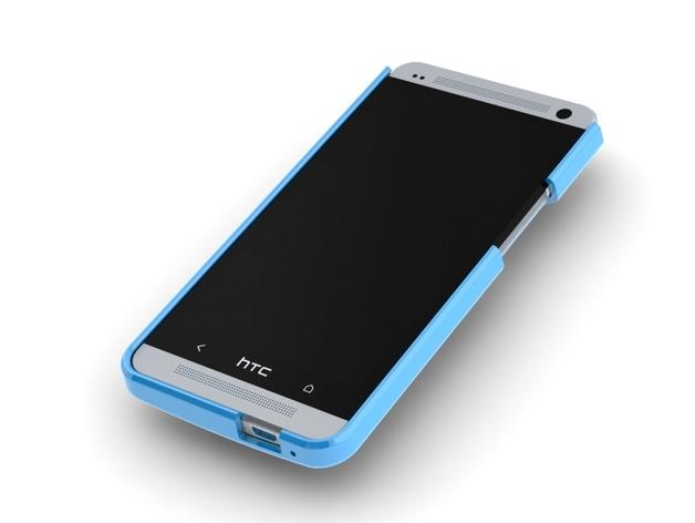HTC One手机壳 3D打印模型渲染图