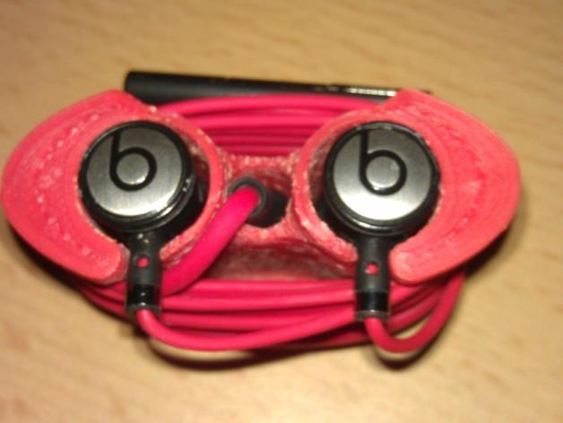 Beats audio绕线器 3D打印模型渲染图
