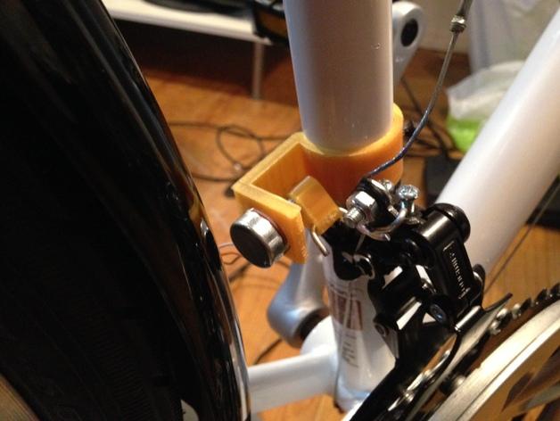 自行车控制器 3D打印模型渲染图