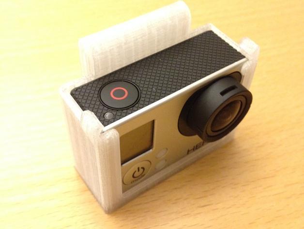 GoPro壳子 3D打印模型渲染图