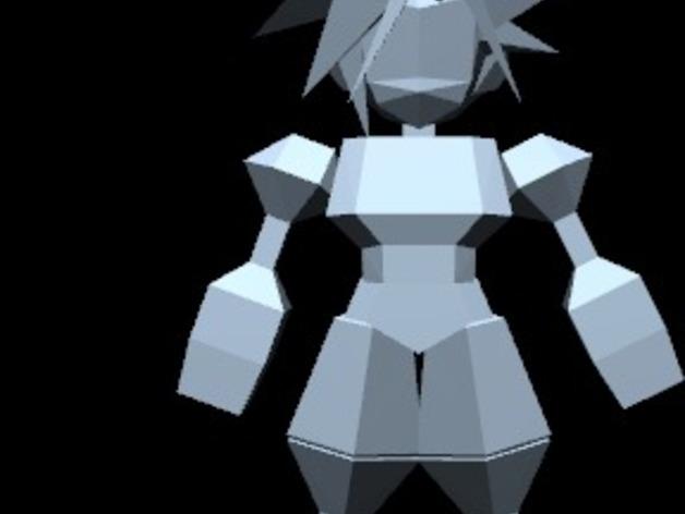 最终幻想7摆件