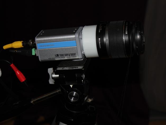 Canon EF镜头 3D打印模型渲染图