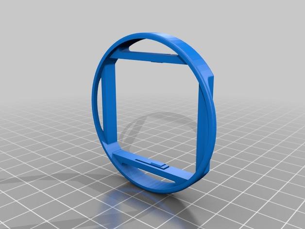 GoPro 3支架 3D打印模型渲染图