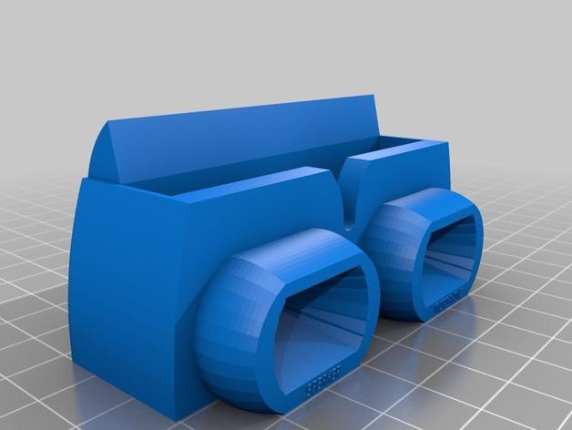 Nexus 5 手机座 3D打印模型渲染图