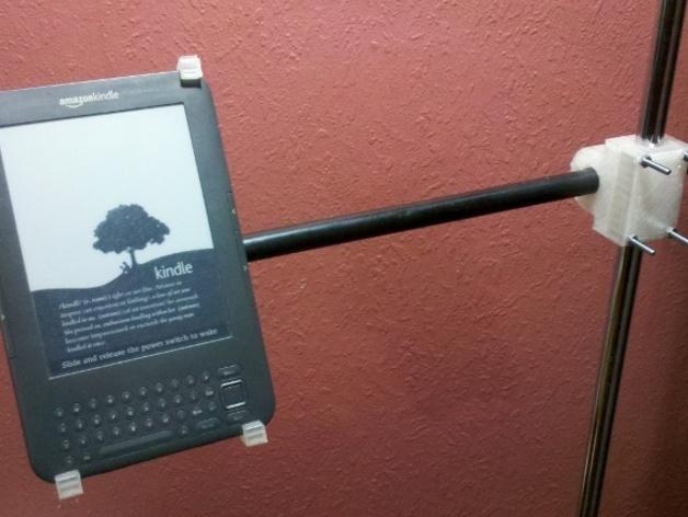 Kindle K3支架 3D打印模型渲染图