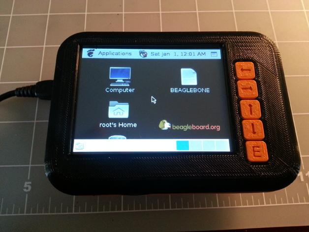 液晶平板保护壳 3D打印模型渲染图