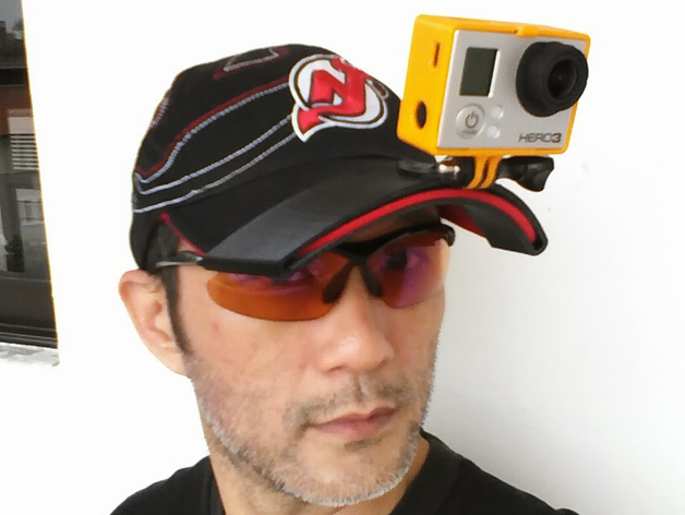 GoPro Hero 3 适配器 3D打印模型渲染图