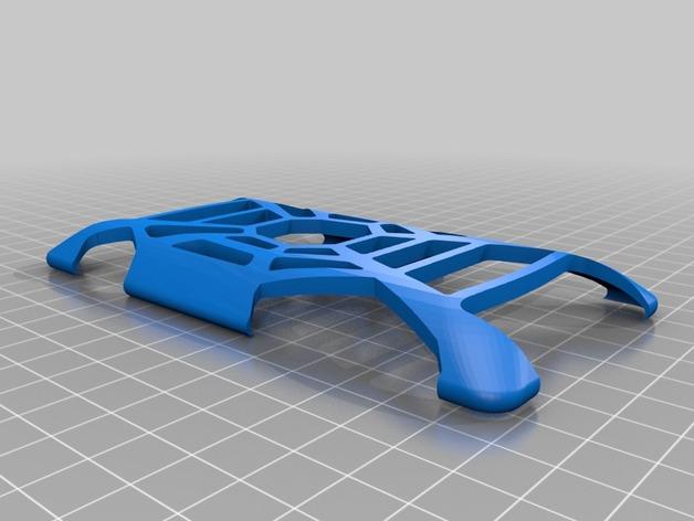 HTC 8x手机壳 3D打印模型渲染图