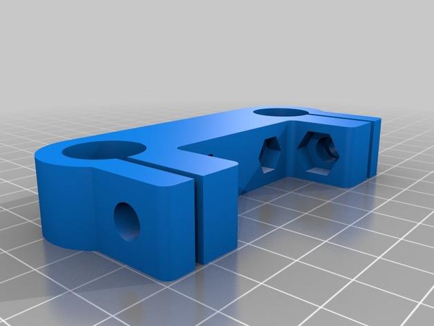 follow-focus架子 3D打印模型渲染图