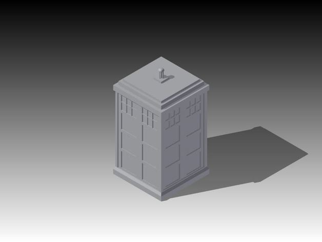 Doctor Who摆件