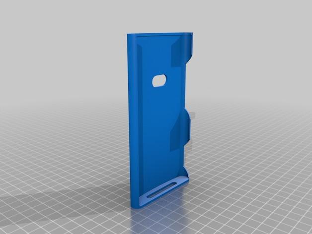 Nokia Lumia 920手机壳 3D打印模型渲染图